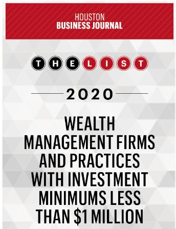 Houston Business Journal list member