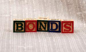 bond portfolio with blocks on top