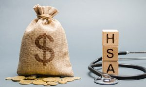 Bag of money represent good HSA investing