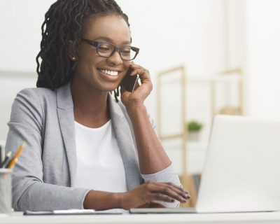 Woman reducing her taxable income and enjoying it